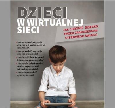 Broszura Dzieci w wirtualnej sieci