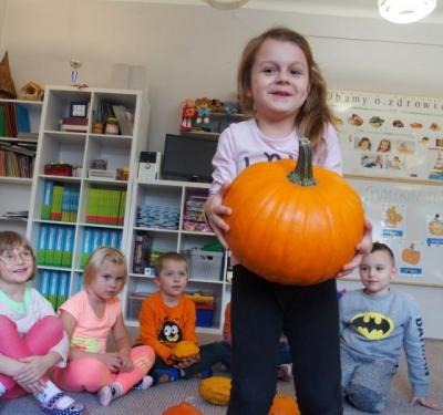 """""""Pumpkin Day"""" w grupie dwujęzycznej Pszczółki"""