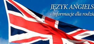 Język angielski - informacje dla rodziców